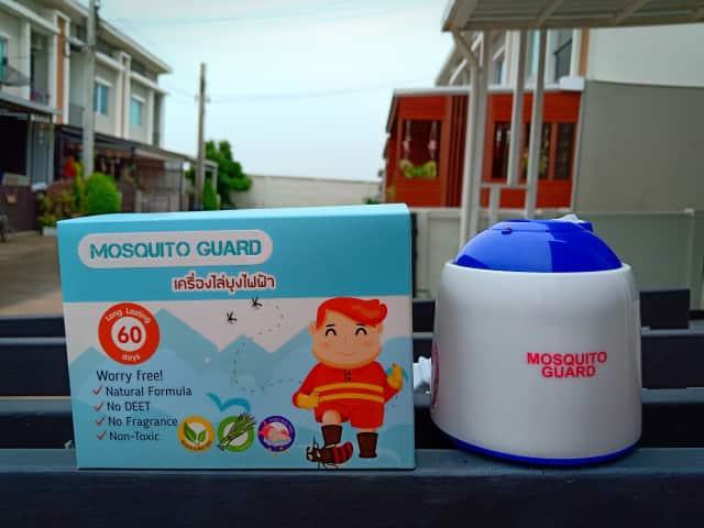 เครื่องไล่ยุงน้ำยาชีวภาพ Mosquito Guard